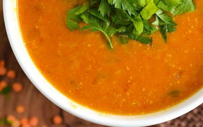 Red Lentil and Coconut Soup