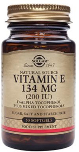 Vitamin E 134mg (200iu) - 50 Softgels