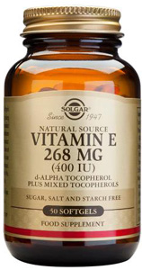 Vitamin E 268mg (400iu) - 50 Softgels
