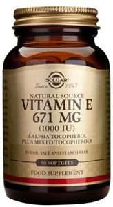 Vitamin E 671mg (1000iu) - 50 Softgels