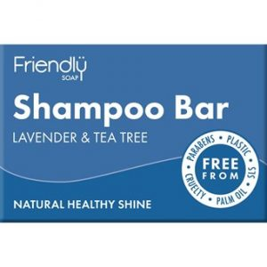 Natural Shampoo Bar - Lavender & Tea Tree - 95g