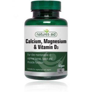 Calcium Magnesium & Vitamin D3 - 90tablets