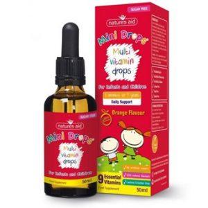 Children's Multi-Vitamin Drops - 50ml