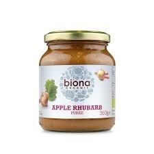 Organic Apple & Rhubarb Puree - 360g