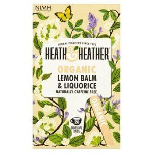 Organic Lemon Balm & Liquorice - 20bags