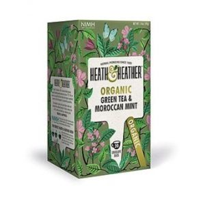 Organic Green Tea & Moroccan Mint - 20bags