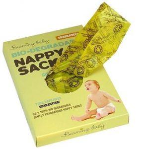 Nappy Sacks - Fragranced - 60pieces