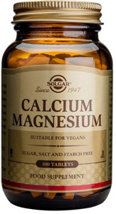 Calcium Magnesium - 100 Tabs