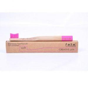 Child Toothbrush Soft - Pink - Single
