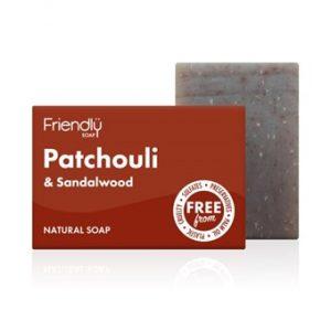 Patchouli & Sandalwood Soap - 95g