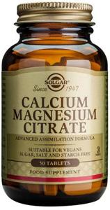Calcium Magnesium Citrate - 50 Tabs