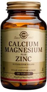 Calcium Magnesium plus Zinc - 100 Tabs