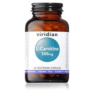 L-Carnitine 500mg - 30 Veg Caps