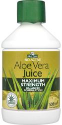 Organic Aloe Vera Juice Maximum Strength - 500ml