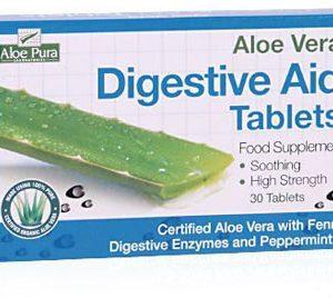 Aloe Vera Digestive Aid - 30 Tabs