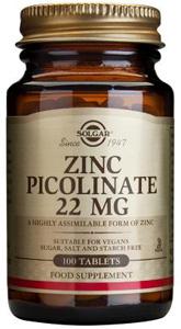 Zinc Picolinate 22mg - 100 Tabs