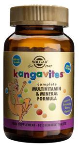 Kangavites® Chewable Multivitamin & Mineral Formula Children (BB) - 120 Tabs