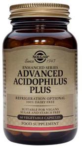 Advanced Acidophilus Plus - 60 Veg Caps