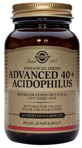 Advanced 40+ Acidophilus - 120 Veg Caps