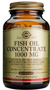 Fish Oil Concentrate 1000mg - 120 Softgels