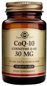 CoQ-10 30mg - 30 Softgels