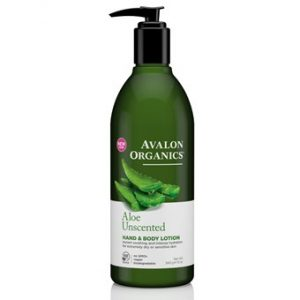 Aloe Unscented Hand & Body Lotion - 340g