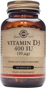 Vitamin D3 400iu (10mcg) - 100 Softgels