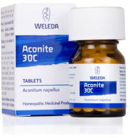 Aconite 30c - 125 tablets