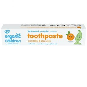 Organic Children Mandarin Toothpaste - 50ml