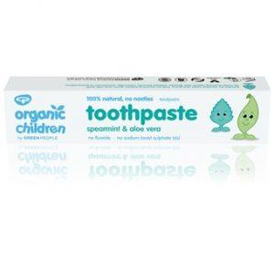 Organic Children Spearmint & Aloe Vera Toothpaste - 50ml