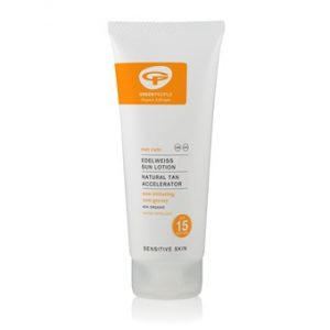 Sun Lotion SPF15 with Tan Accelerator - 100ml - Travel Size