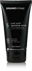 Organic Homme 5 Cool Style™ Shower Wash - 150ml