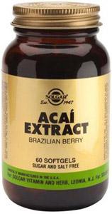 Acai Extract - 60 Softgels