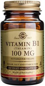 Vitamin B1 (Thiamin) 100mg - 100 Veg Caps