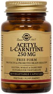 Acetyl-L-Carnitine 250mg - 30 Veg Caps