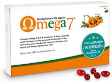 Omega 7 Sea Buckthorn Oil (Omega 3, 6, 7 & 9) - 60 caps