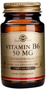 Vitamin B6 50mg - 100 Tabs