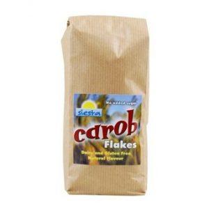 Natural Carob Flakes - 245g