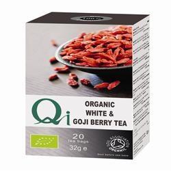 Organic White Tea and Goji Berry - 20bags