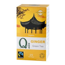 Organic Green Tea and Ginger - 25bags