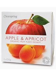 Apple & Apricot Fruit Puree - 2 x 100g