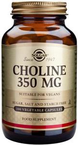 Choline 350mg - 100 Veg Caps