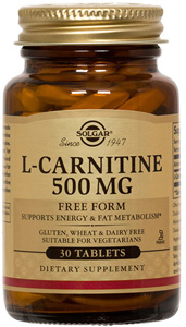 L-Carnitine 500mg - 30 Tabs