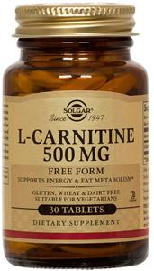 L-Carnitine 500mg - 60 Tabs