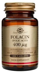 Folacin (Folic Acid) 400mcg - 100 Tabs