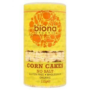 Organic No Salt Corn Cakes - 110g