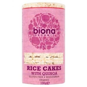 Organic Rice Cakes with Quinoa - 100g