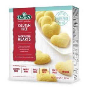 Shortbread Hearts - 150g