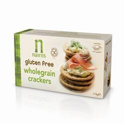 Gluten Free Wholegrain Crackers - 114g