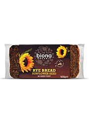 Organic Wholemeal Rye Sunflower Seed Bread - 500g